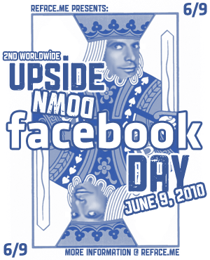 Upside Down Facebook Day 2010