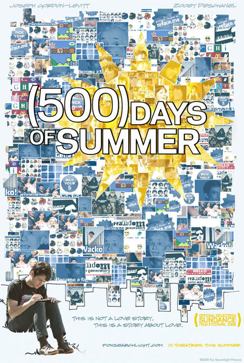 Put yourself on the (500) Days of Summer film poster