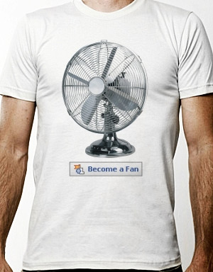Become a real fan t-shirt