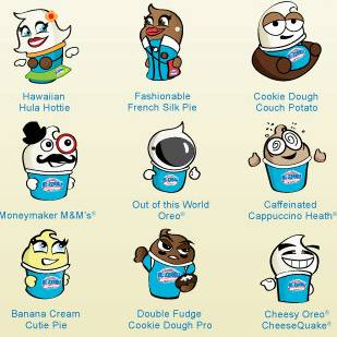 Tag Your Friends as Blizzard Treats!