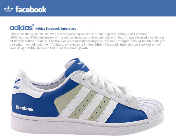 Facebook Adidas Shoes