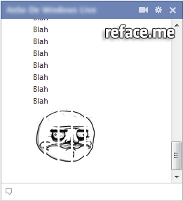 Facebook Chat Me Gusta trollface