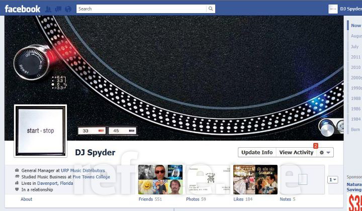 Facebook Timeline Cover Photos (DJ Spyder)