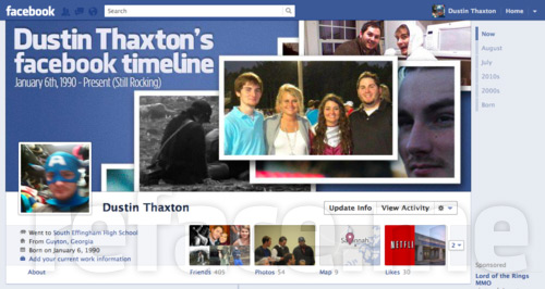 Facebook Timeline Cover Photos (Dustin Thaxton)