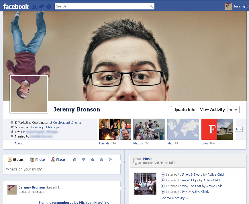 Facebook Timeline Cover Photos (Jeremy Bronson)