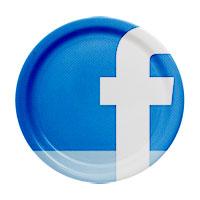 Facebook dinner plate