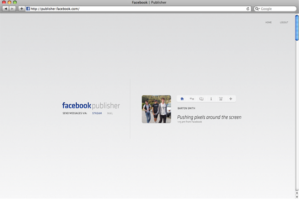 Facebook Facelift prototype project