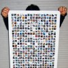 Print Your Facebook Friends Poster