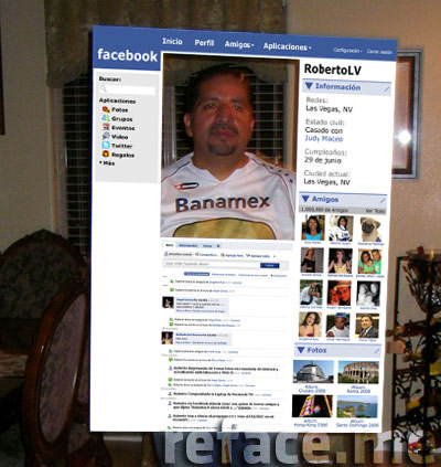 Halloween Facebook Profile http://reface.me/humor/facebook-halloween-costumes/