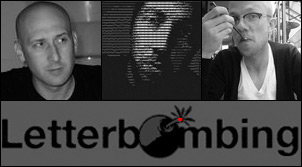 "Creators of ""Facebook Letterbombing"": Jeff Greenspan, Chris Baker and Danny Adrain."