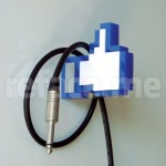 Facebook Like Coat Hanger, Your Wall Likes It