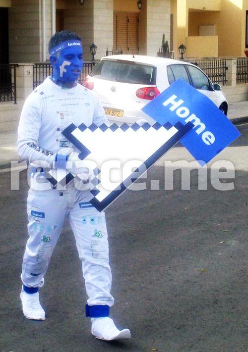 Facebook man on the street