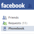 Facebook Phonebook