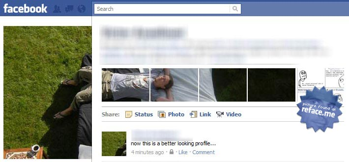 Facebook New Profile Trick