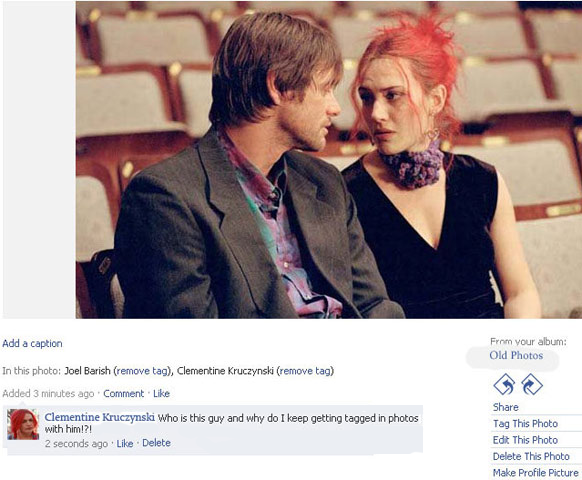 Eternal Sunshine of the Spotless Mind movies