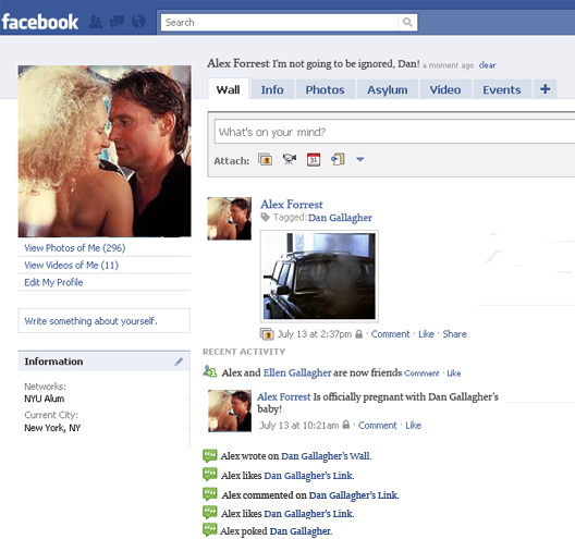 Fatal Attraction spoiled by Facebook