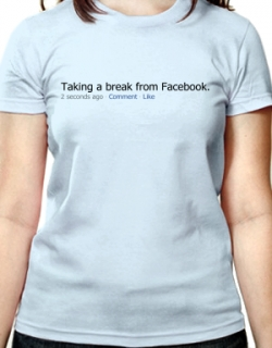 New Facebook t-shirts and 15% off until 2010