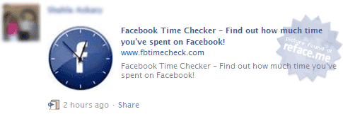 Facebook Time Checker Status Update