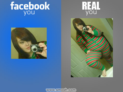 Facebook You vs Real You
