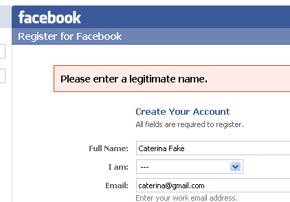 Names Fail Rejects Facebook
