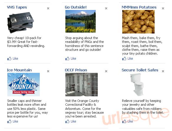 Fake Advertisements