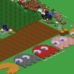 Farmville Pacman by Robert Hight