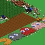 Farmville Pacman by Robert Hight