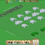 Farmville Space Invaders by Gabriel David
