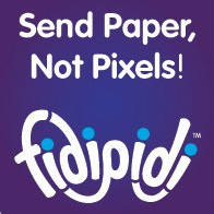 Free Fidipidi Card: Send paper, not pixels