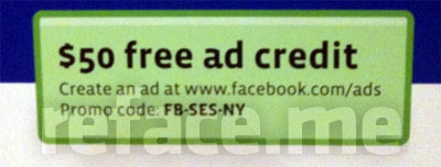 Free Facebook advertising coupon code