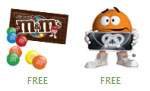 Free M&M's Facebook gifts