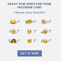 New icons for Facebook Chat