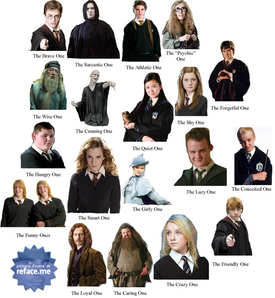 Harry Potter Facebook Tag Poster
