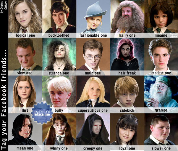 Harry Potter Facebook tag picture