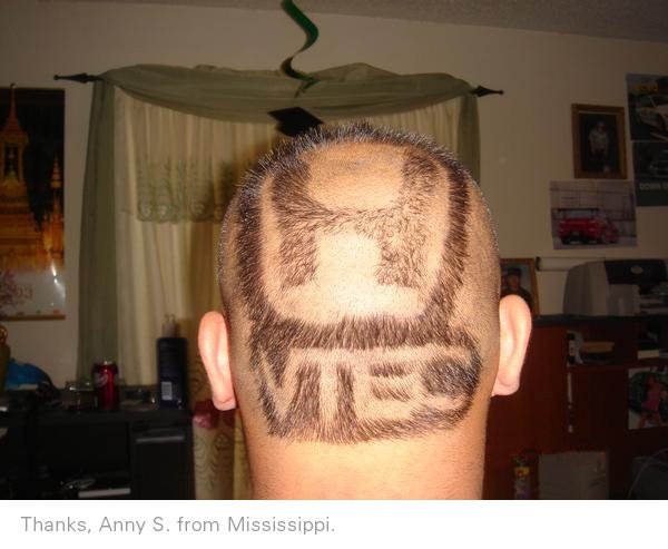 Logo haircut