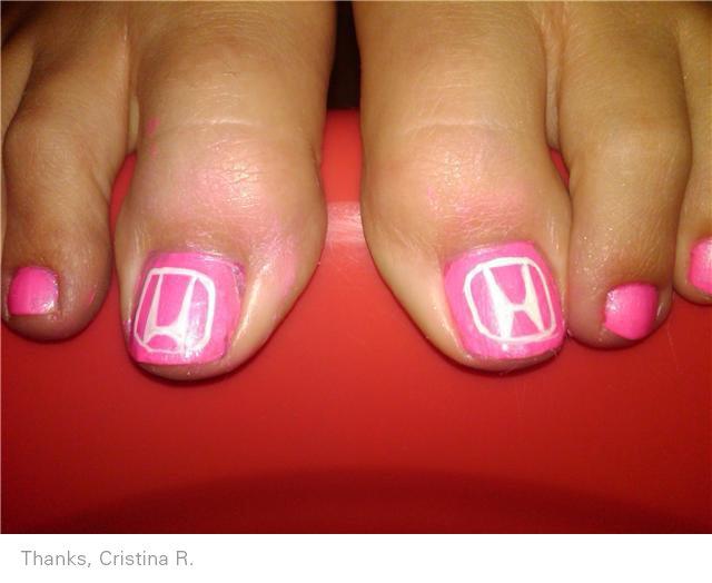 Honda nail art