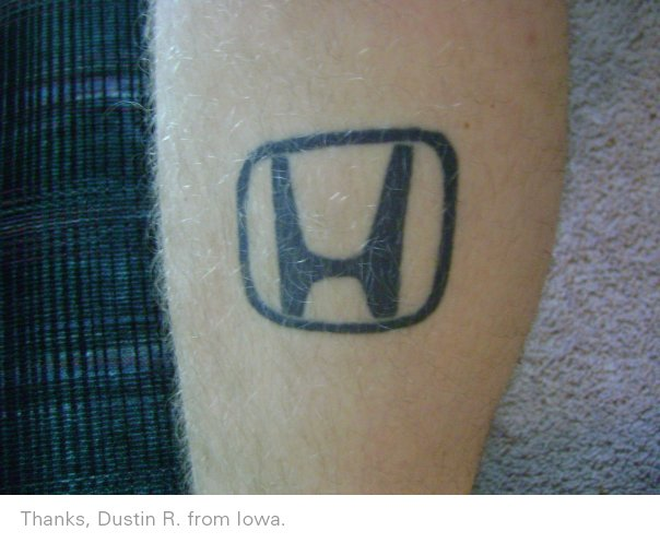 Honda tattoo