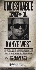 Kanye West - Harry Potter Undesirable N° 1