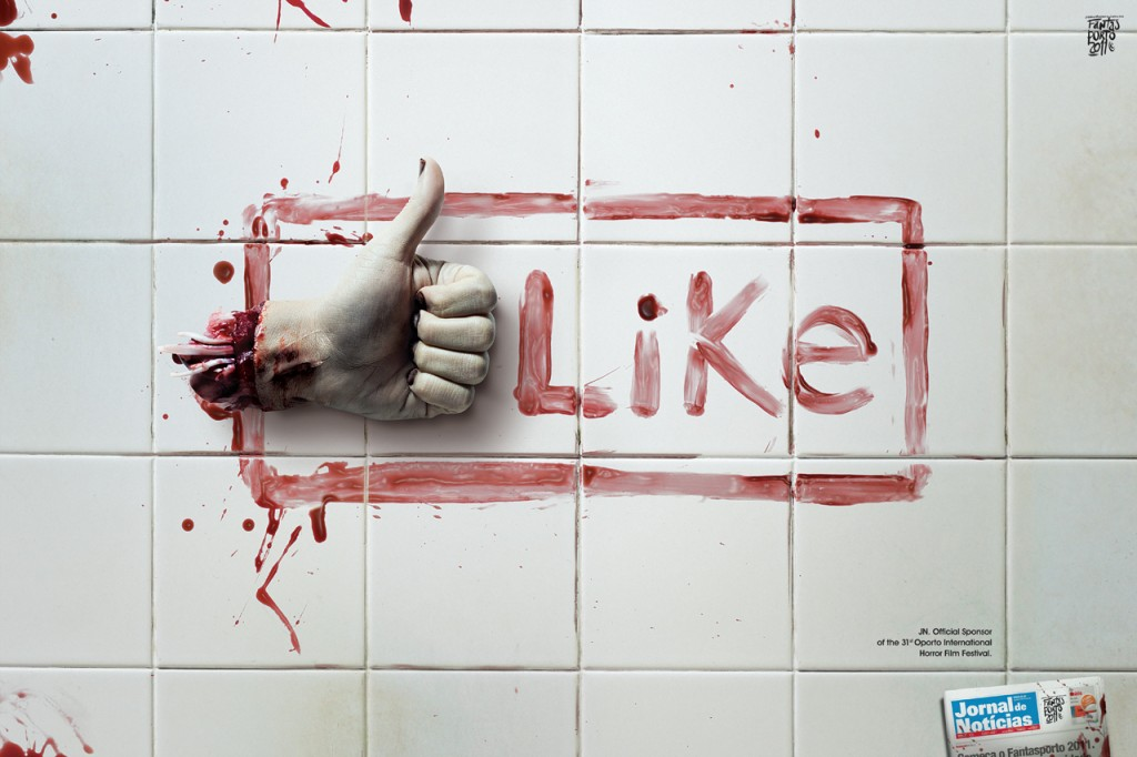 Bloody Like Button