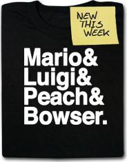 Mario & Luigi & Peach & Bowser