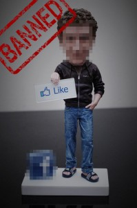 Mark Zuckerberg action figure banned