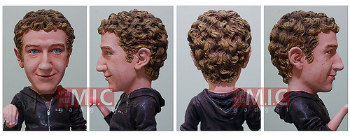 Mark Zuckerberg doll