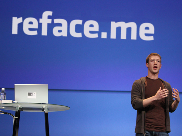 Mark Zuckerberg Presents: Reface.me