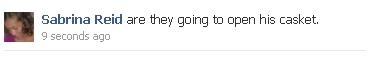 Michael Jackson Memorial Status Updates on Facebook