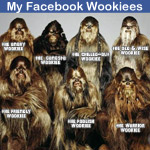 My Facebook Wookiees: tag your friends as Wookiees