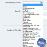 Adding Custom Relationship Status Options