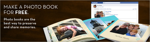 Free photo book from your Facebook photos with Shutterfly