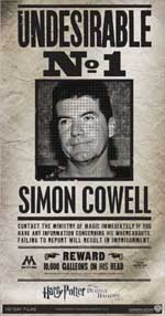 Simon Cowell - Harry Potter Undesirable N° 1