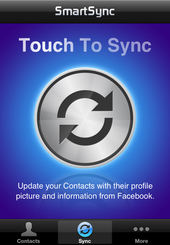 SmartSync for iPhone and Facebook
