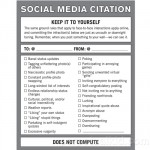 Social Media Citation Notepad